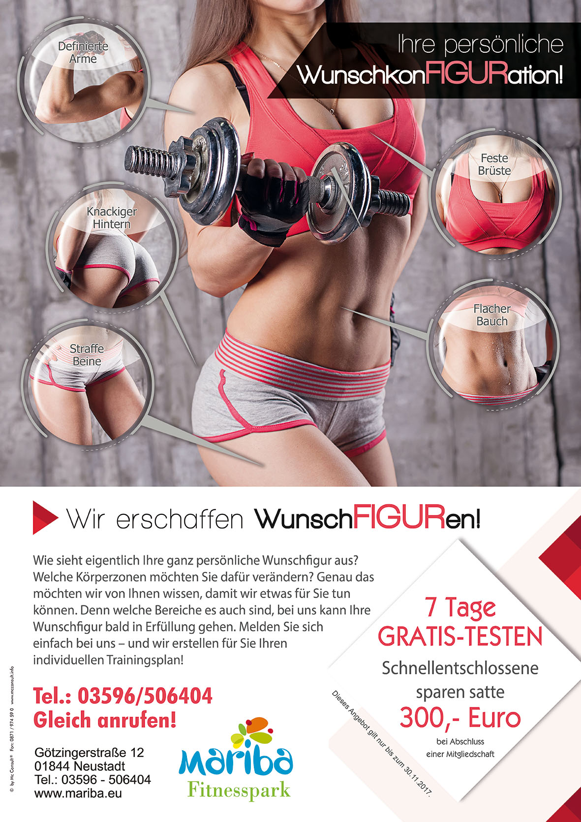 Fitnesspark Herbstaktion 2017
