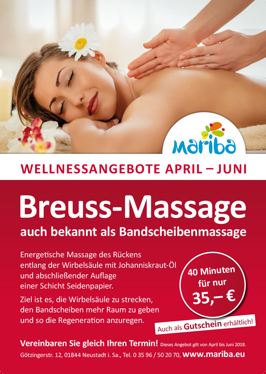 Wellnessangebot