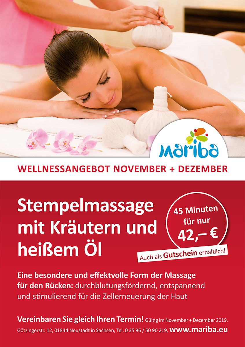 Wellness Angebot Mariba